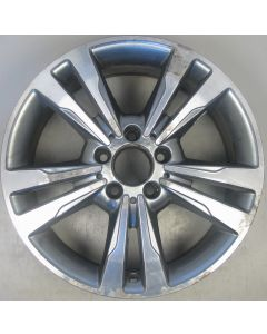 "2124015602 Mercedes 212 E-Class 5 Twin Spoke Alloy Wheel 8 x 17"" ET48 Z9827"