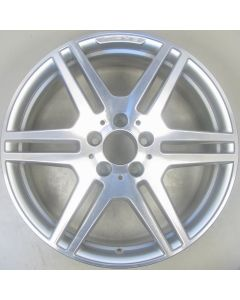 "2124012302 AMG Mercedes 212 E-Class 6 Twin Spoke Wheel 8.5 x 18"" ET48 Z9869"